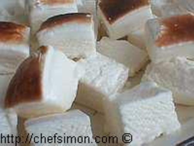 Marshmallows ou guimauves grillées