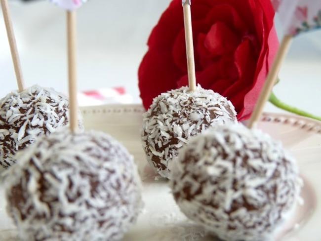 Truffes «cocolatées»