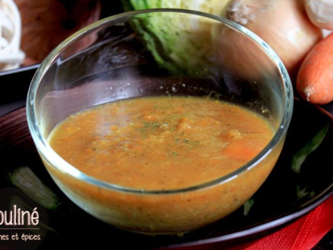 Mouliné de légumes aux épices
