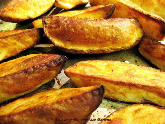Pommes de terre au paprika fumé et à l'ail