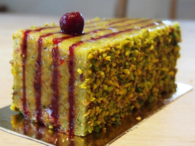 Cake pistache griotte