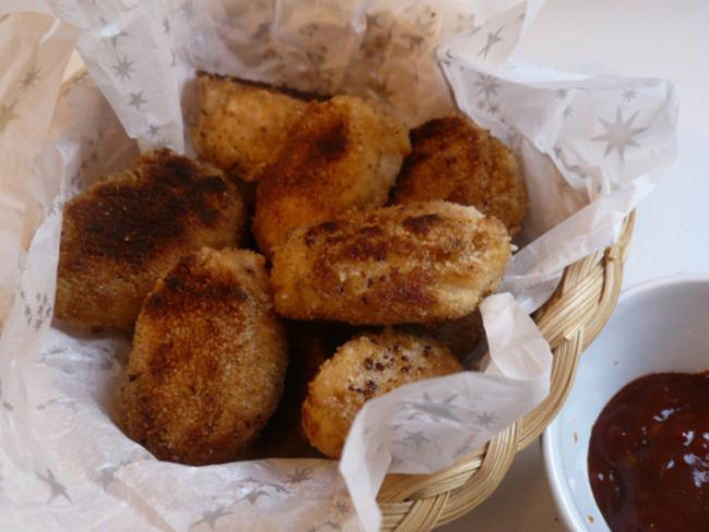 Nuggets de poulet maison facile à faire