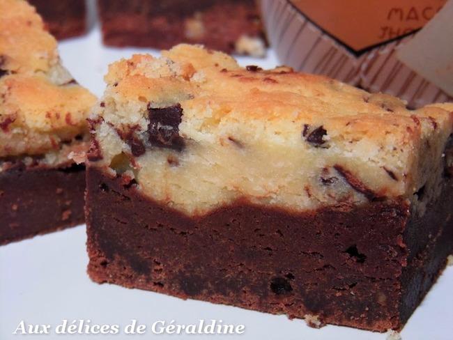 Brookie au chocolat