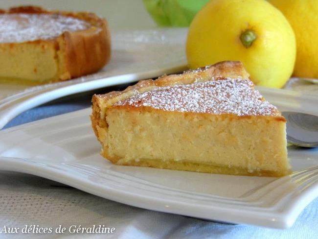 Tarte Ricotta Citron Recette Par Aux Délices De Géraldine