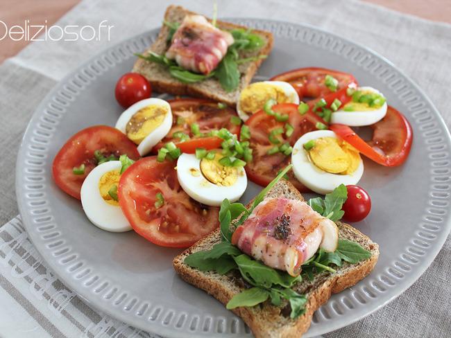 Salade de chèvre au lard - Délizioso