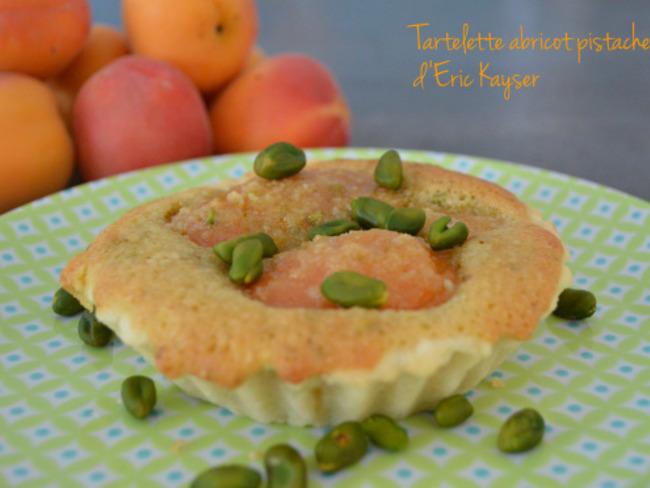 Tartelette abricot pistaches d'Eric Kayser