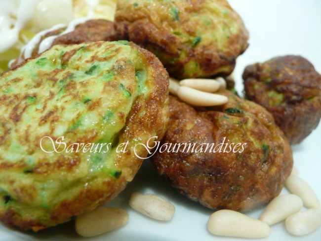 Omelette aux courgettes syrienne