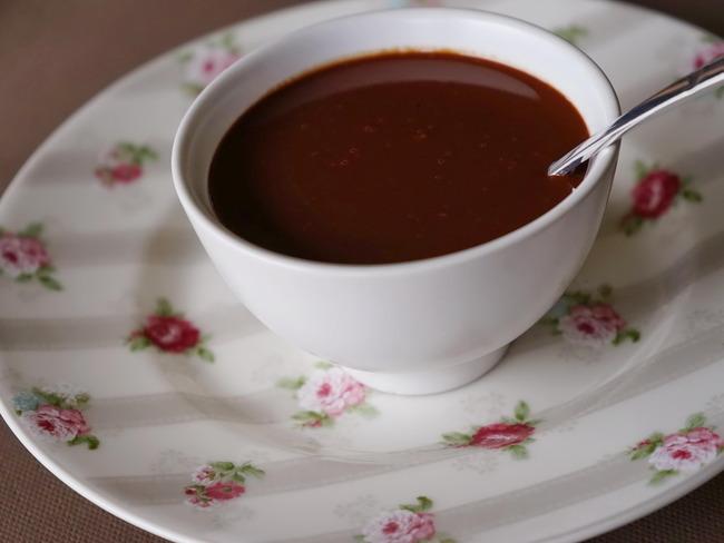 Sauce chocolat légère