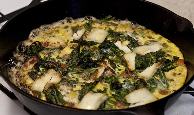 Frittata aux légumes