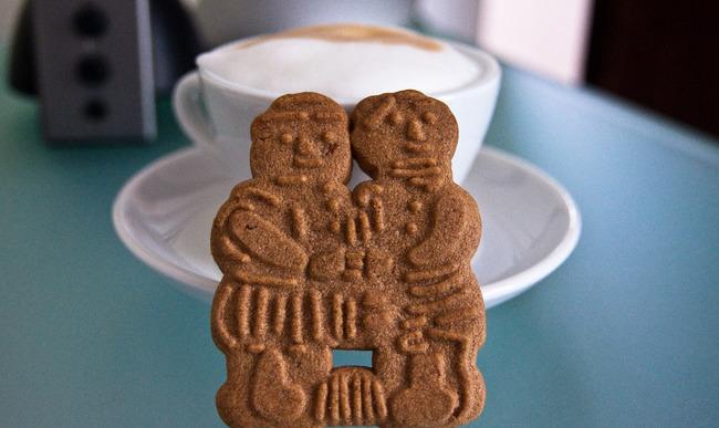 Spéculoos et café