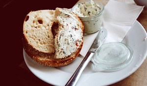 Bagel and Cream cheese