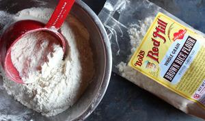 Paquet de farine de riz