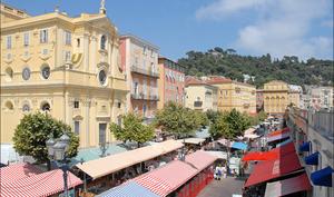 Cours Saleya à Nice