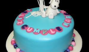 Gravity cake Snoopy
