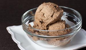 Coupe de glace chocolat