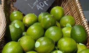 Panier de citrons verts