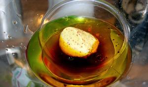Vinaigrette avec vinaigre balsamique.
