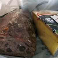 Tomme de Savoie et pain aux noix