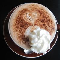 Stumptown Hot Chocolate Latte Art