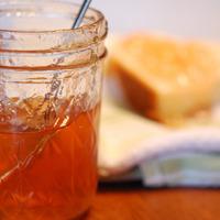 Pot de gelée de fruit