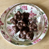 Oursons guimauves au chocolat