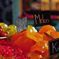 Etal de fruits confits