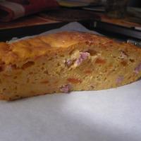 Cake salé aux carottes et jambon
